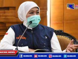 Gubernur Khofifah Minta Maaf Penanganan Covid-19 di Jatim Belum Memuaskan