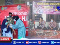 Usai Sosialisasi, Warga Desa Sawah Tengah Sampang Antusias Suntik Vaksinasi Covid-19