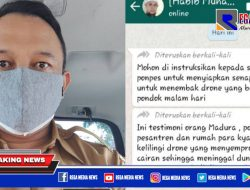 Beredar Isu Drone Semprotkan Virus ke Pesantren di Madura, Ini Kata Kadiskominfo Sampang