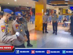 Kakor Polairud Baharkam Polri Tinjau Vaksinasi di Mall Pasar Atum Surabaya