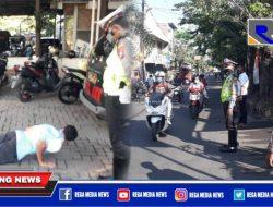 Tak Wajar Pakai Masker, 9 Warga Surabaya Ditindak