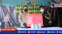 Polisi Ringkus Seorang Kakek di Bangkalan