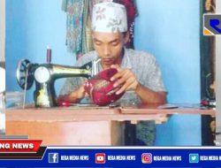 Dampak Pandemi, Omset Pengrajin Kopiah Batik di Sampang Menurun