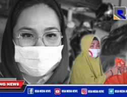 Kunjungi Kota Gorontalo, Dewi Sartika Hemeto Bagi-Bagi Bantuan
