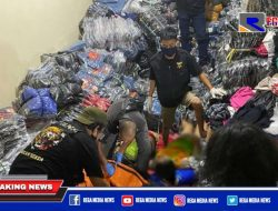 3 Orang Tewas Tertimbun Pakaian di Kalimantan Selatan