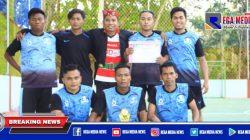 Sparring Futsal, Butmoning Club Raih Juara 1
