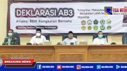 BEM Se Kabupaten Bangkalan Deklarasi AB3