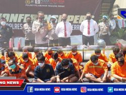 Polres Pelabuhan Tanjung Perak Ringkus 46 Tersangka