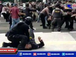 Viral Polisi Banting Mahasiswa Saat HUT Tangerang
