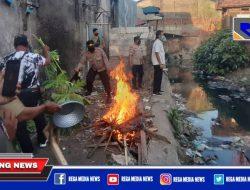 Gubuk Narkoba di Sidorame Surabaya Dibakar
