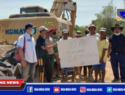 Warga Protes, Pengerjaan Normalisasi Sungai Kemuning Sampang Diberhentikan