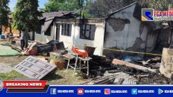 Gedung SMPN di Aceh Selatan Ludes Terbakar