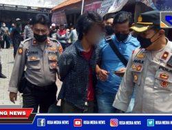 Jambret Hp Dalam Angkot Surabaya Digelandang Polisi
